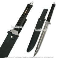 "24"" 65Mn Spring Steel Full tang Tactical Wakizashi Sword Functional Machete"
