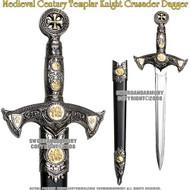Medieval Century Templar Knight Crusader Sword