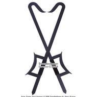 2 Pcs Martial Art Kung Fu Wu Shu Chinese Hook Swords Black