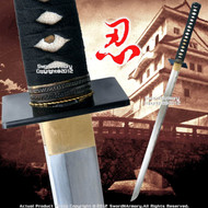 "33"" 1065 Steel Fully Functional Handmade Practical Ninjato Ninja Sword by Master Park"
