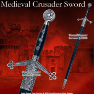 """41 """" Medieval Scottish Claymore Arming Sword With Scabbard"""