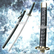 "37"" Gin Ichimaru Anime Sword Fantasy Katana Cosplay Video Game Weapon Replica"