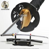 Munetoshi Performance Cutting Katana Samurai Sword T10 Differentially Hardened B