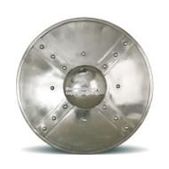 14 Gauge Steel Combat Grade Functional Roman Medieval Buckler Shield SCA Medium