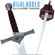 Highlander Scottish Conner MacLeod Claymore Sword McGill Family Crest