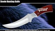 Full Tang Fixed Blade Knife Hunting Dagger  Wood Handle