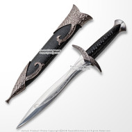 "10.25"" Elven Sting Dagger Miniature Letter Opener Fantasy Sword with Sheath"