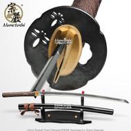 Munetoshi Performance Cutting Katana Samurai Sword T10 Differentially Hardened