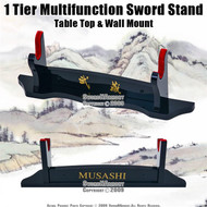 1 Tier Multifunction Sword Stand