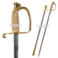 US Naval Officer Saber Navy Dress Ceremonial Sword USN Naval Academy Graduate