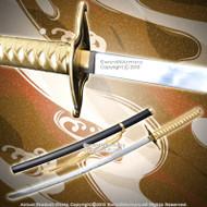 "38"" Ulquiorra Schiffer Murcielago Zanpakuto Fantasy Anime Katana Samurai Sword"