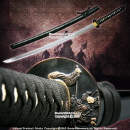 "41"" Hand Honed Samurai Kami Warrior Katana Sword Sharp Edge"