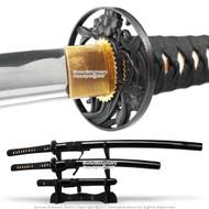 Musashi Brand Handmade Samurai Sword Set Katana Wakizashi Tanto Sharp Blades