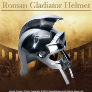 Gladiator Maximus Roman Helmet Medieval Armor Wearable