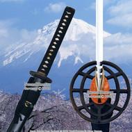 "27"" Blade Length Aluminum Iaito Unsharpen Training Katana Practice Samurai Sword"
