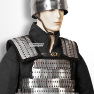 Medieval  Metal Scale Plate Body Armor Domed Scales LARP Renaissance Costume 3 Sizes
