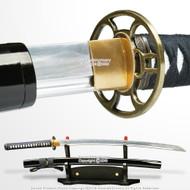 Unsharpen Aluminum Blade Iaido Iaito Kendo Kumdo Practice Training Katana Sword