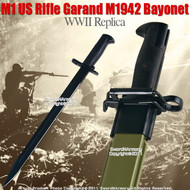 M1 US Rifle Garand M1942 Bayonet WWII Replica Knife