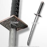 "Functional 26.5"" Polypropylene Wakizashi Samurai Short Katana Training Sword"