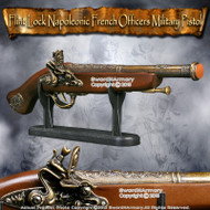 Flint Lock Napoleonic French Officers Military Pistol Historical Replica