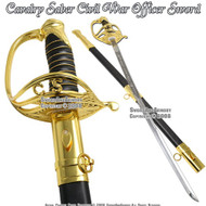 CSA Military 1860 Light Cavalry Army Saber Civil War Confederate Officer Sword