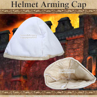 Cloth Medieval Helmet Arming Cap Padded under Helm SCA LARP