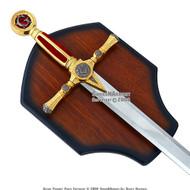"""45"""" Masonic Ceremonial Sword Templar Knight Freemasonry 1"""
