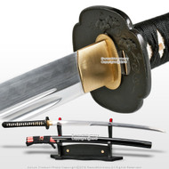 Ryujin T10 Steel Unokubi Zukuri Handmade Samurai Katana Sword Rayskin Wrap Saya