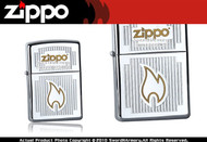 Chrome Visions Zippo Lighter Brand New 24206 Wind Proof