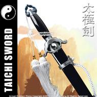Black Spring Steel Jian Chinese Tai Chi Kung Fu Practice Sword Unsharpened