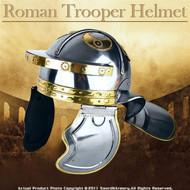 Ornate Roman Trooper Helmet Legion Armor Galea Helm
