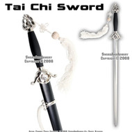 Master Chinese Tai Chi Practice Sword Well Balanced Stiff Blade