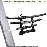Virtues of Bushido Last Samurai Katana Sword Set