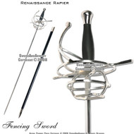 Renaissance Rapier Fencing Sword