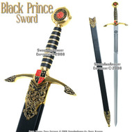Edward the Black Prince Medieval Long Sword With Scabbard