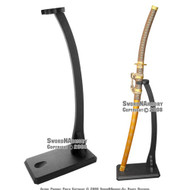 Deluxe Vertical Shogun Upright Sword Stand, Heavy Duty