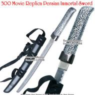 300 Spartan Warrior Persian Immortal Sword Prop With Scabbard
