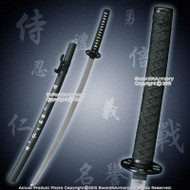 "36"" Samurai Katana Decoration Sword Cosplay with Bushido Honor Courtesy Kanji"