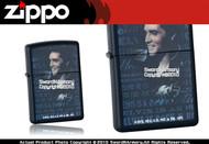 Elvis Presley Black Matte Zippo Lighter Brand New 24546