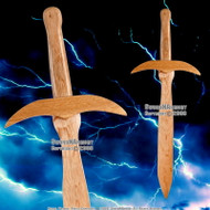 "23"" Long Wooden Sting Short Toy Sword"