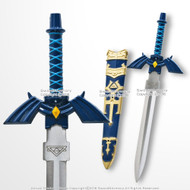 "11"" Mini Link Master Sword Display Letter Opener with Sheath Fantasy Dagger"
