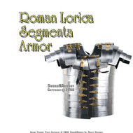 Lorica Segmentata Roman Legionare Medieval Armor, Good For LARP And SCA