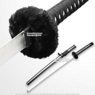SparkFoam Fantasy Anime Samurai Foam Katana Toy Sword BK Video Game Weapon LARP