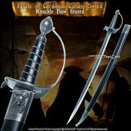 "30"" Classic Caribbean Pirate Cutlass Sword Bow Guard Cosplay Movie Replica"
