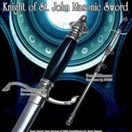 """34 """" Templar Crusader Knight of St. John Masonic Sword"""