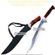 Full Tang Heavy Duty Combat KUKHRI Sword Sharp With Sheath