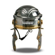 Roman Gaelic Trooper Helmet Legionaire Armor Full Size Wearable Liner Chin Strap