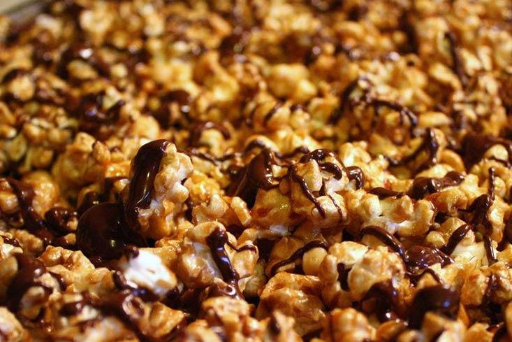 Ultimate Caramel Chocolate Popcorn recipe