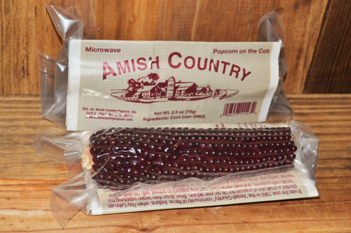 Red Microwave Cob | Amish Country Popcorn - Berne Indiana
