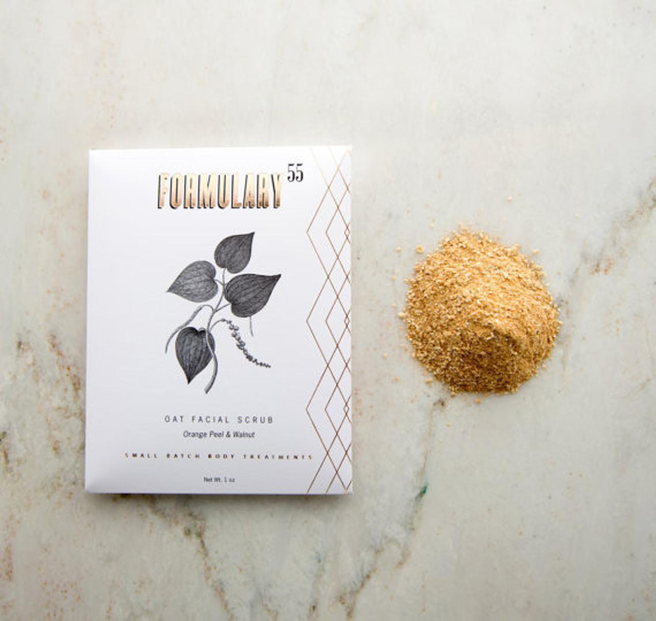 Organic Oatmeal Facial Scrub